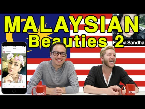 Americans React To Malaysian Beauties Pt 2