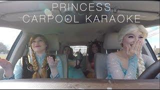 Carpool Karaoke Disney Princess Edition