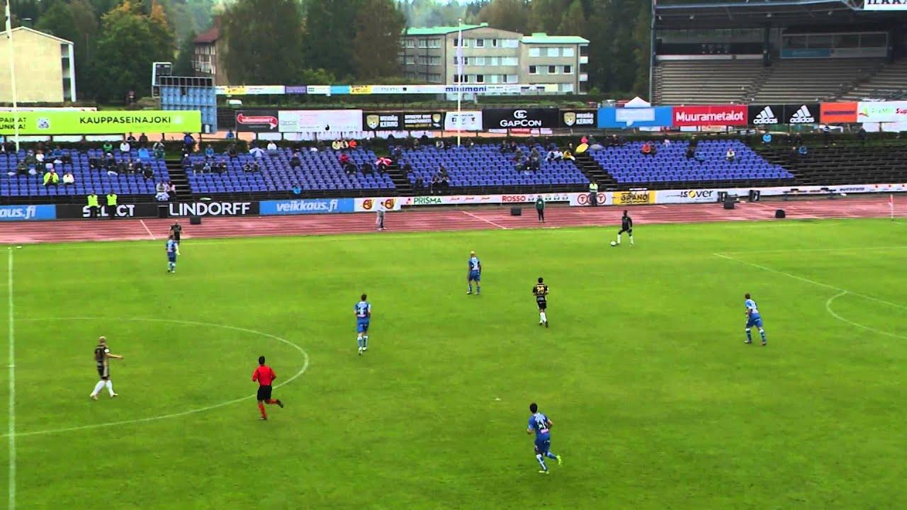 SJK Seinajoki 2-1 TPS Turku
