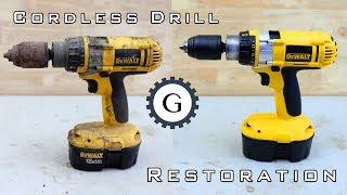 Cordless Drill Restoration | Dewalt XRP 18V TYPE 1