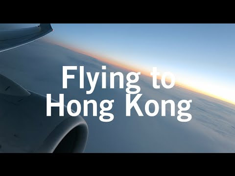 Flying to Hong Kong