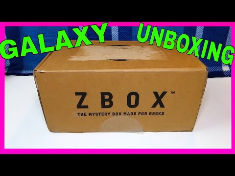 (DECEMBER 2017) ZBOX - Unboxing [GALAXY]