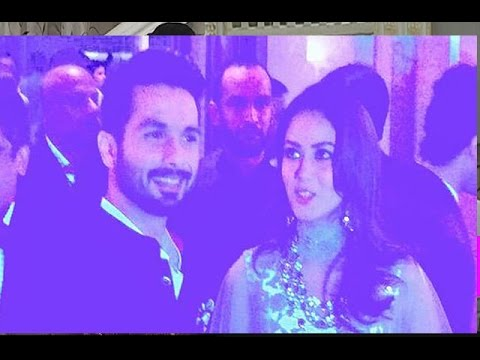 Shahid and Mira's Post Wedding After Party What Happened Watch Full Video
