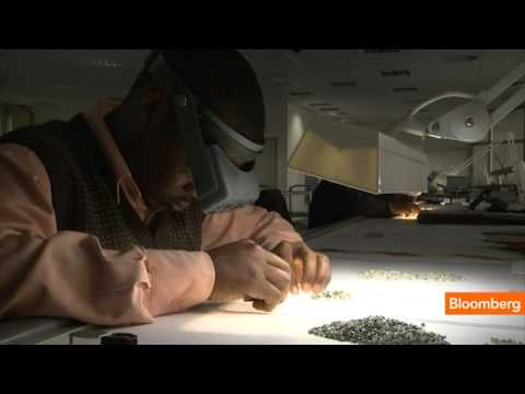 How De Beers Turns Rough Diamonds Into Perfection