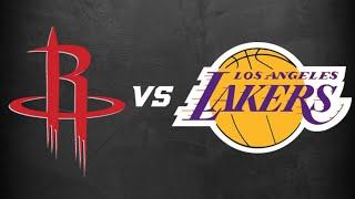 Houston Rockets Vs. Los Angeles Lakers Live Stream Reaction