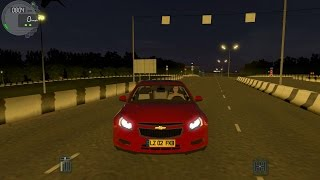 City Car Driving 1.4.1 Chevrolet Cruze (0-200)Son Hız(Top Speed)