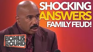 5 SHOCKING ANSWERS ON Family Feud USA! Bonus Round