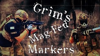 Grim's Tippmann TCR and Rap4 468 Mag-Fed paintball markers