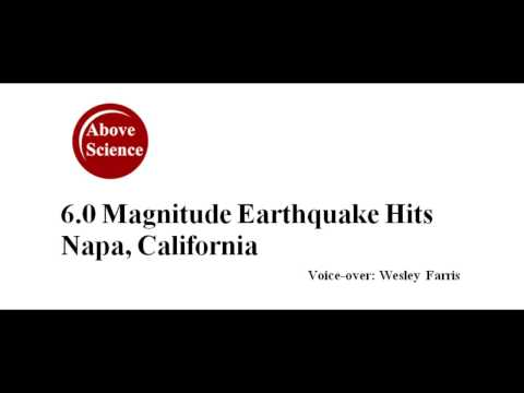 6 0 Earthquake Hits Napa, California