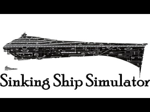 Sinking Ship Simulator: USS ISD and Speedboats!