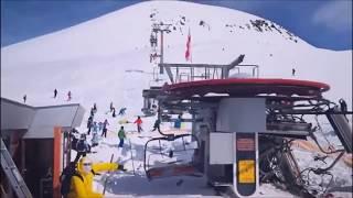 ski lift accident. Gudauri