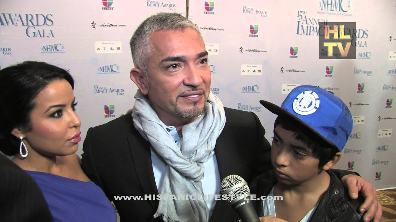 Cesar Milan with Yahaira and Son, Hispanic Lifestyle - YouTube