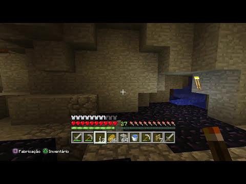 Minecraft - Todo mundo atras do FERRO