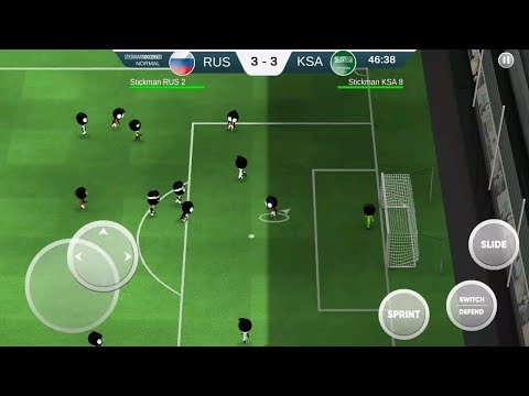 [ Game hot android 2018 ] Game hot soccer world cup 2018 Russia vs Saudi Arabia : 4 4