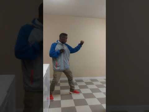 My first karate demonstration