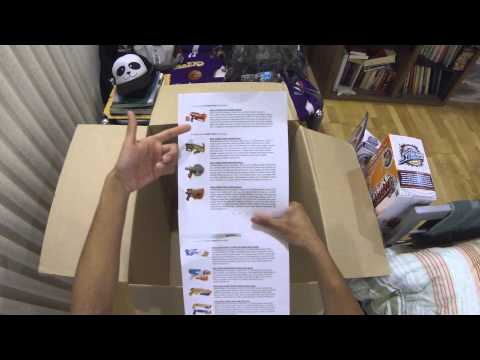 Unboxing a Package from Nerf (Spring 2014 Line) (Vote For Next Review!)