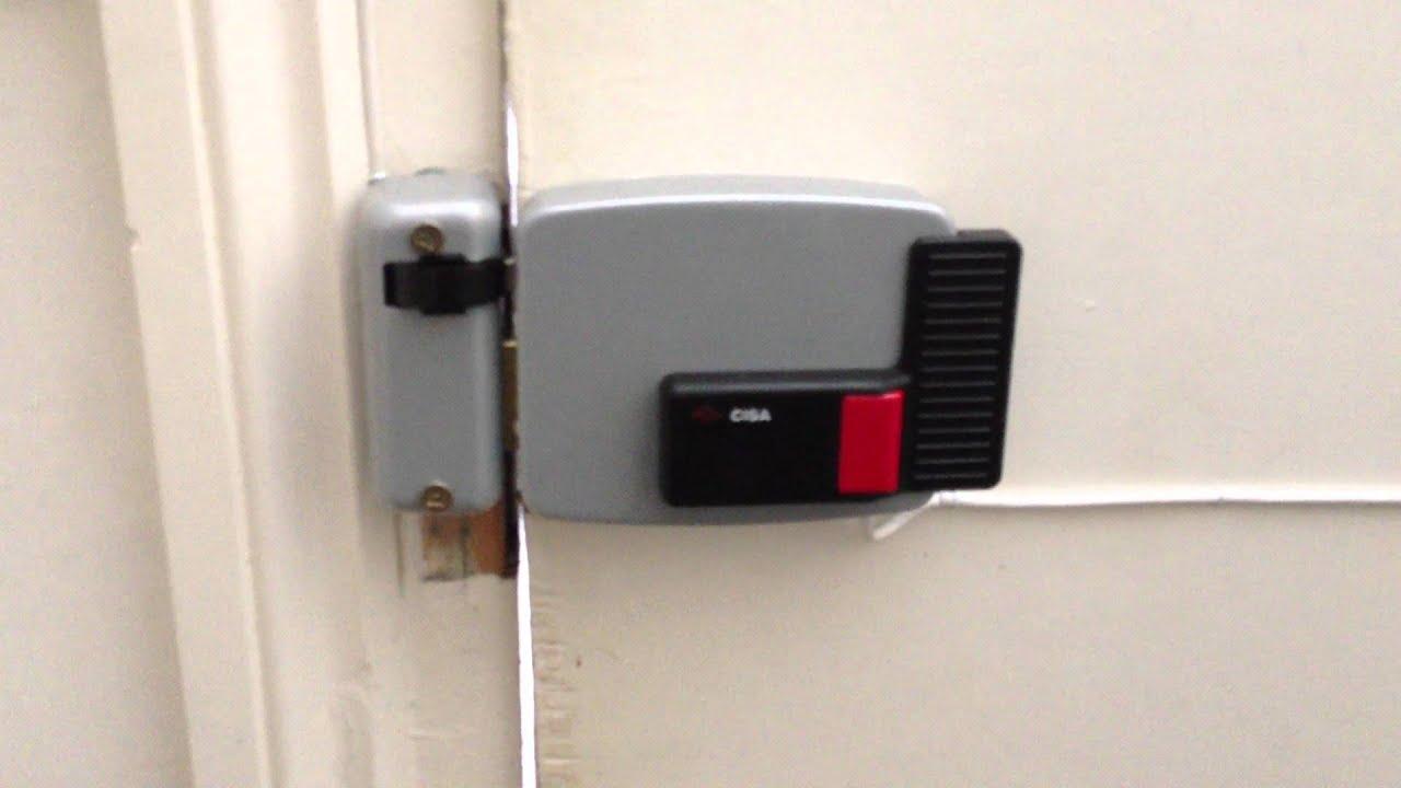 Cisa Lock Release Dead Lock Mechanism Electronic Use