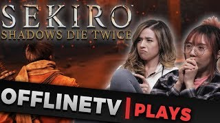 RAGE QUITTING SEKIRO | LADY BUTTERFLY BOSS FIGHT - OFFLINE TV PLAYS feat. Poki, Toast, Lily & Scarra