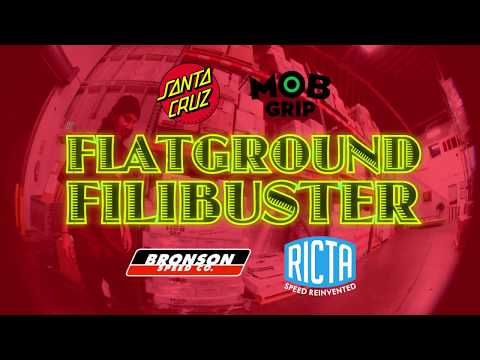 Tom Asta Flatground Filibuster on a Shaped board!