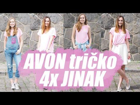 FASHION | AVON Tričko 4x jinak!