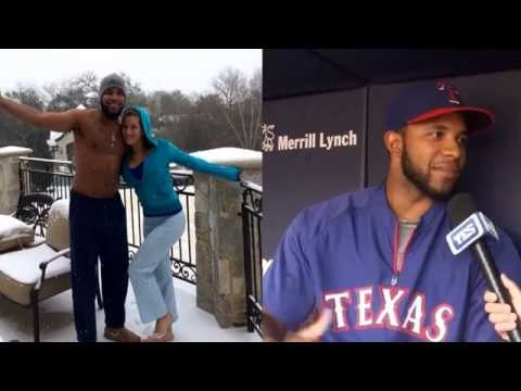 Derek Jeter, Adrian Beltre's head & Russell Wilson with Texas Rangers' Elvis Andrus - YES or No