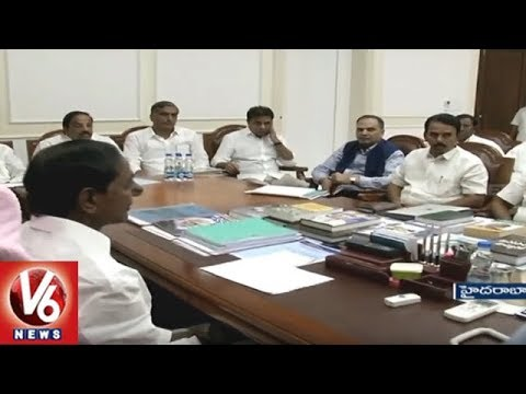 Telangana State Cabinet Meet To Be Held In Pragathi Bhavan Today | Hyderabad | V6 News