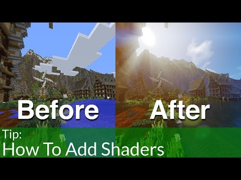 How To Install Shaders Into Minecraft 1.8.9
