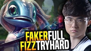 download lagu Faker Fizz Tryhard Mode Trying To Carry His Team gratis