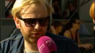 Bob Hardy interview - Pukkelpop Festival 2013