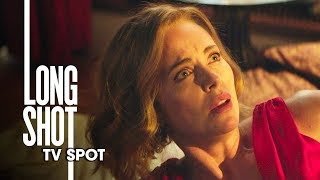 "Long Shot (2019 Movie) Official TV Spot ""Beautiful"" – Seth Rogen, Charlize Theron"