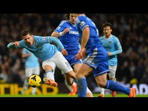 Stevan Jovetić vs Chelsea F.C. (H) 13/14 PL By ChequeredCrown