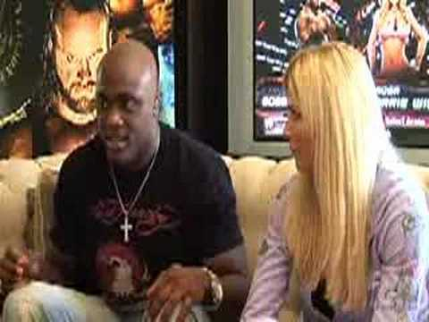 Bobby Lashley and Torrie Wilson interview {SD vs Raw 08}