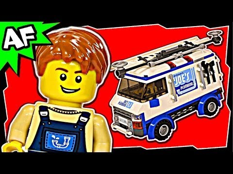 Lego Movie FLYING FLUSHER TRUCK #2 70811 Animated Building Review