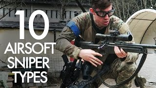 10 Types of Airsoft Sniper - I am Number 4