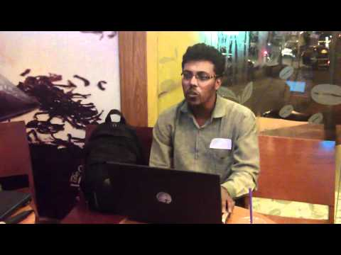 Rahul Srinivasan Singing Tune Mere Jana (main Hara) At Gizmomeet Mumbai video