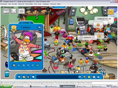 Candace de club penguin 2010