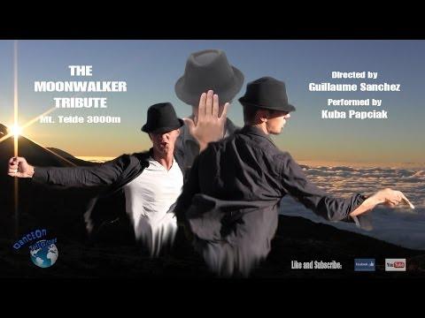 Michael Jackson Dance - The Moonwalker Tribute (full) - Mount Teide (Alt. 3000 mtrs)