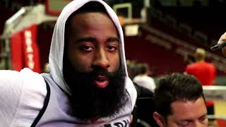 James Harden reflects on Houston's Game 2 performance