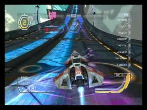 WipEout HD: ANZAC vs France 2 Part 1 - Weapons Off - Phantom