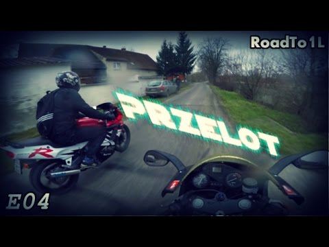 Honda NSR 125 & Aprilia RS 125   Przelot