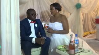 The Bride feeding her Husband