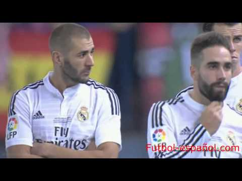Atlético Madrid vs Real Madrid 1 0 Final Supercopa España
