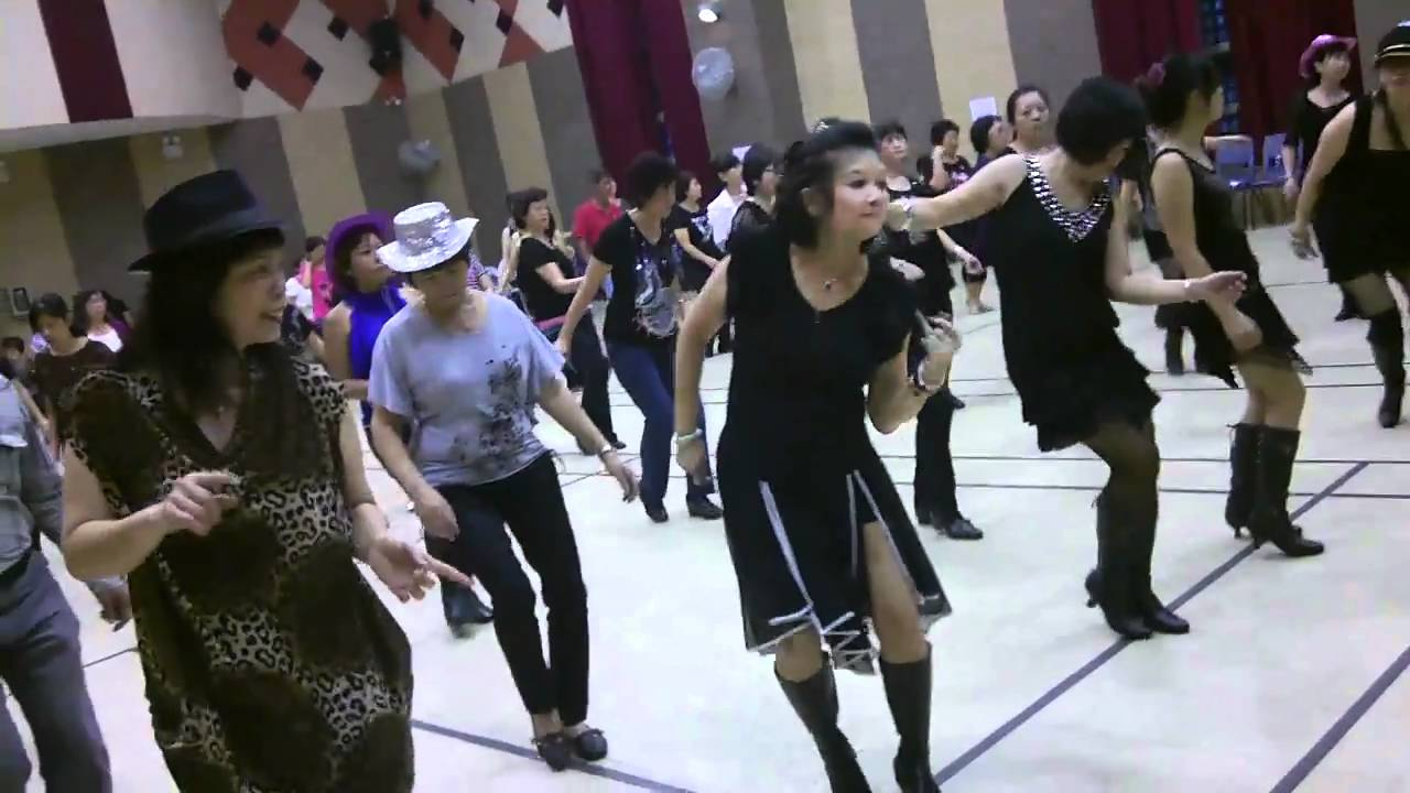 how to do the electric slide line dance