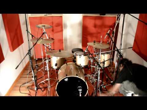 D-Mente - Sesión de batería para la grabación de