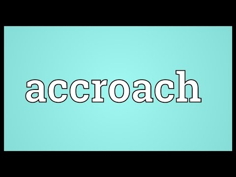 Header of accroach