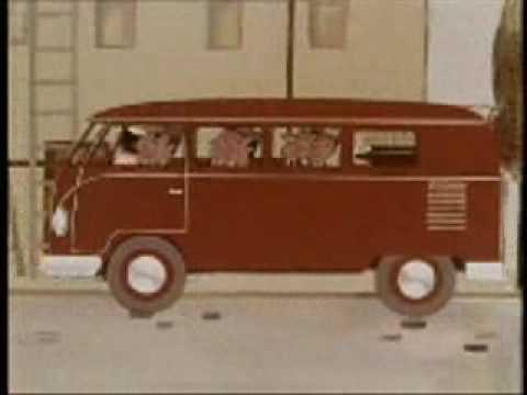 Vintage bus (Volkswagen)