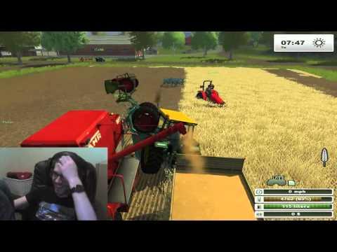 Competitive farm simulator