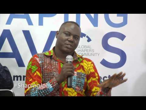 #ShapingDavos in Accra 2016 - Mpedigree Selorm Branttie (1) #ShapingJobs