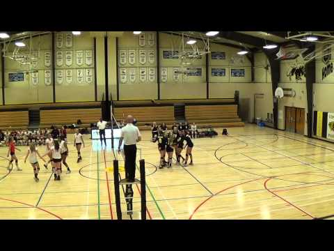 Como Park vs Minnehaha Academy volleyball 10/22/14