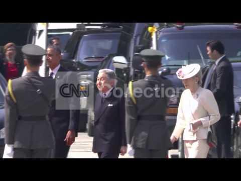 PRESIDENT OBAMA ARRIVES IN TOKYO